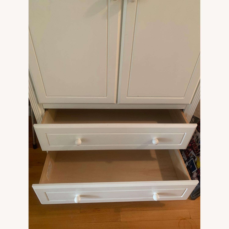Bellini Furniture White Armoire - image-3