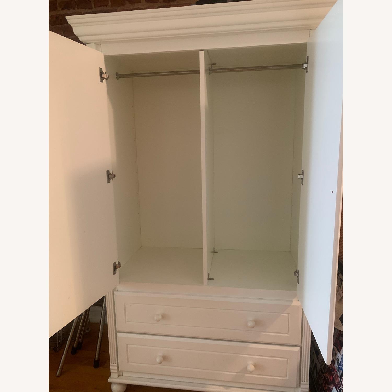 Bellini Furniture White Armoire - image-2