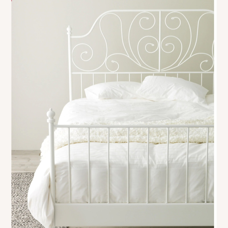 IKEA LEIRVIK FULL BED FRAME - image-2