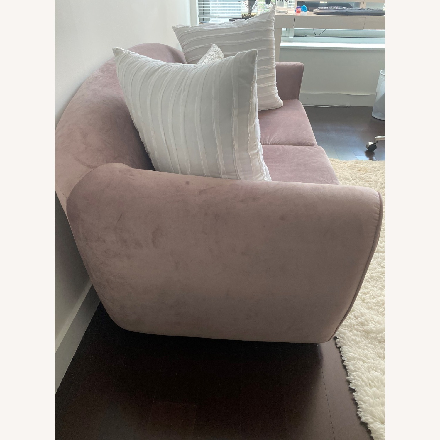 Urban Outfitters Little Pink Sleeper Sofa - image-3