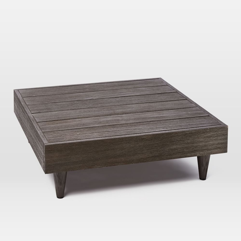 West Elm Portside Low Slab Coffee Table - image-1