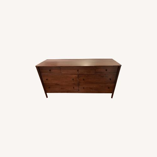 Used Crate & Barrel Gia 7-Drawer Dresser, Solid Maple for sale on AptDeco