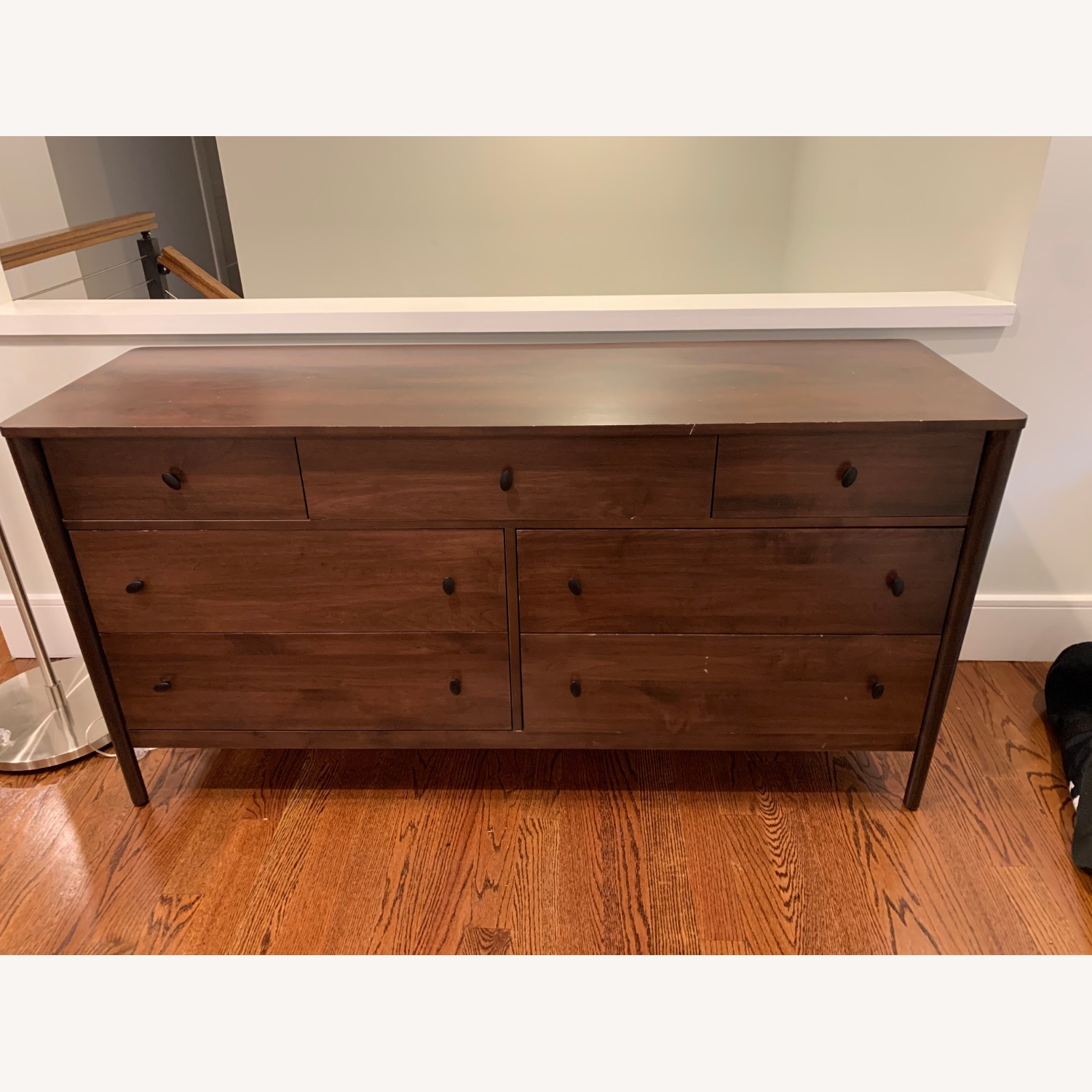Crate & Barrel Gia 7-Drawer Dresser, Solid Maple - image-1