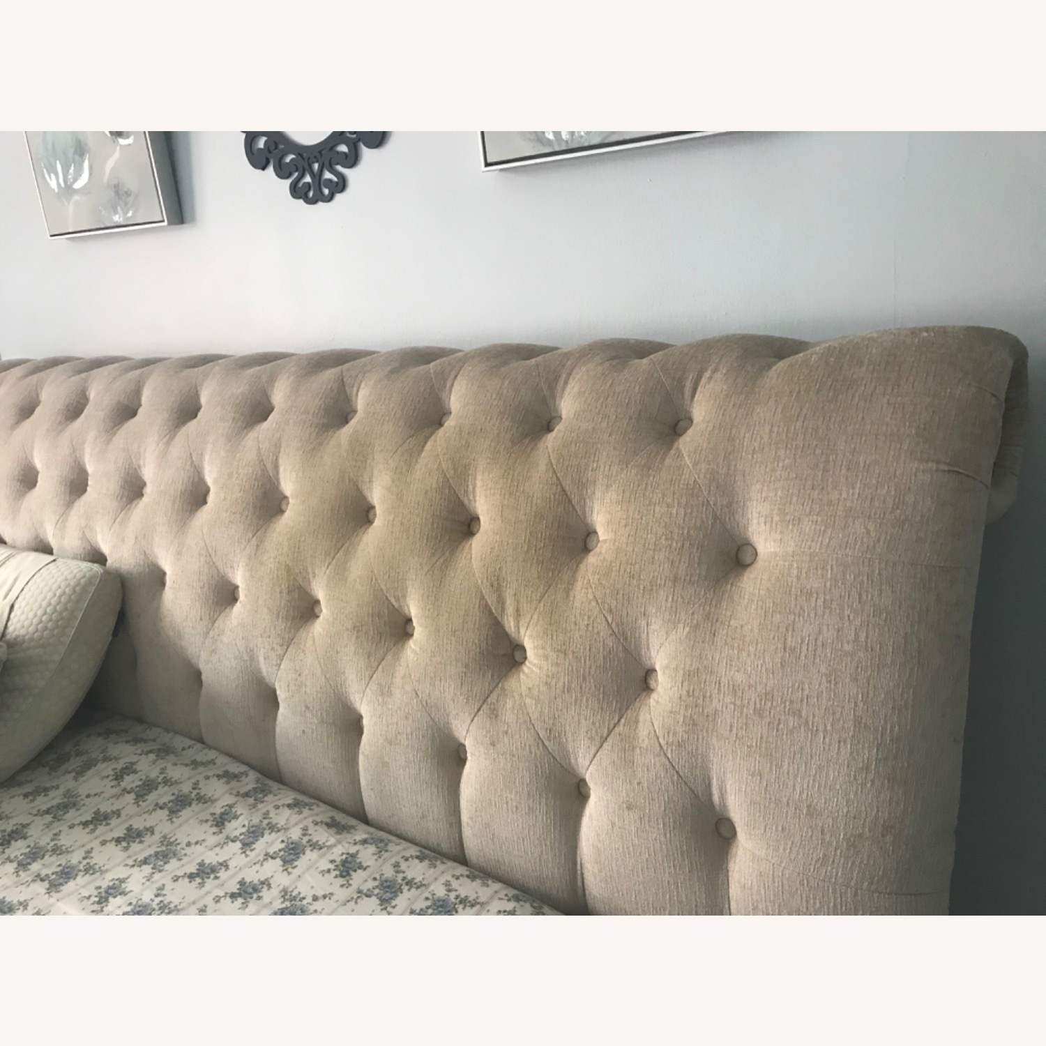 Macy's Cali King Tufted Bed - image-3