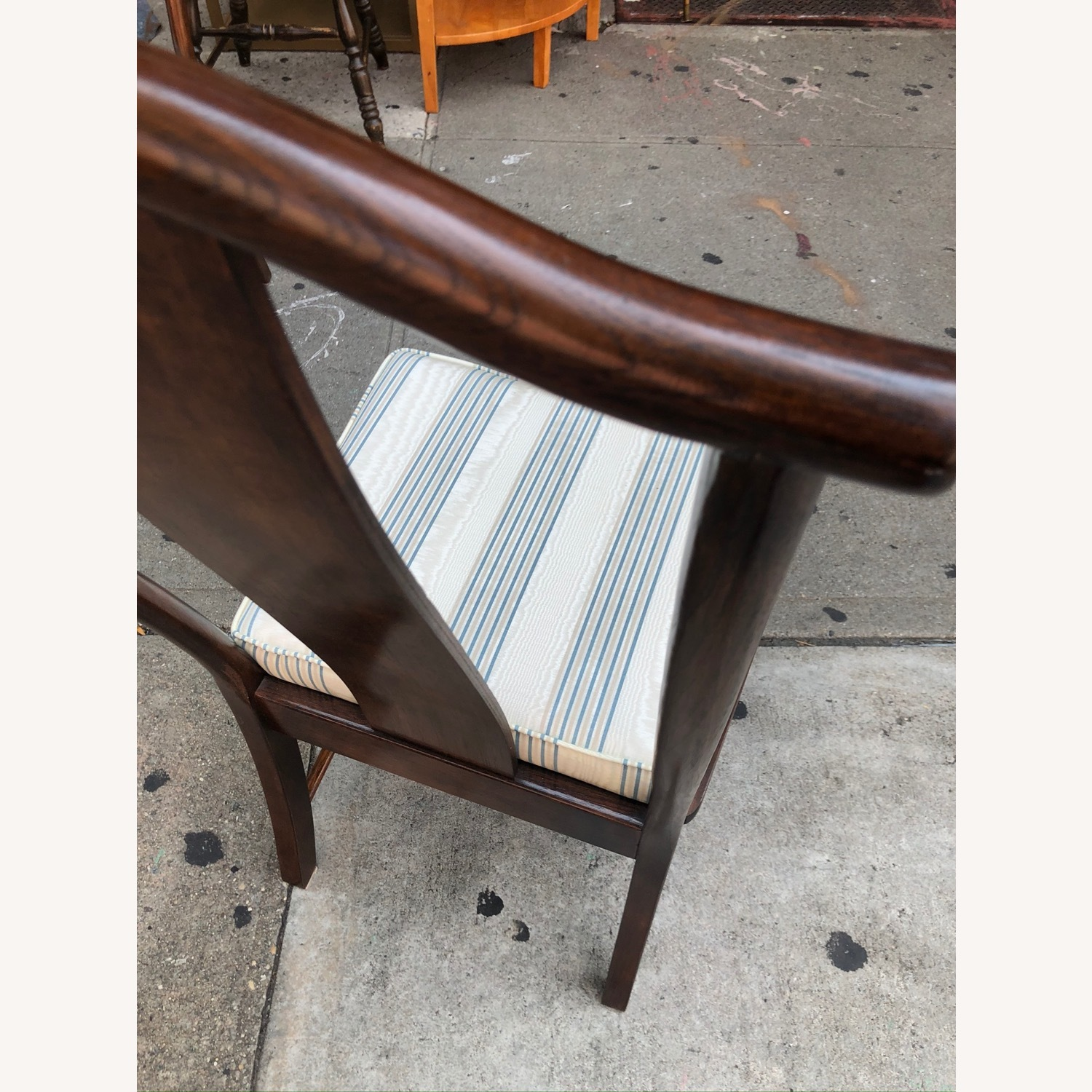 Vintage 1970s Table w/6 Chairs & 2 Extension - image-32