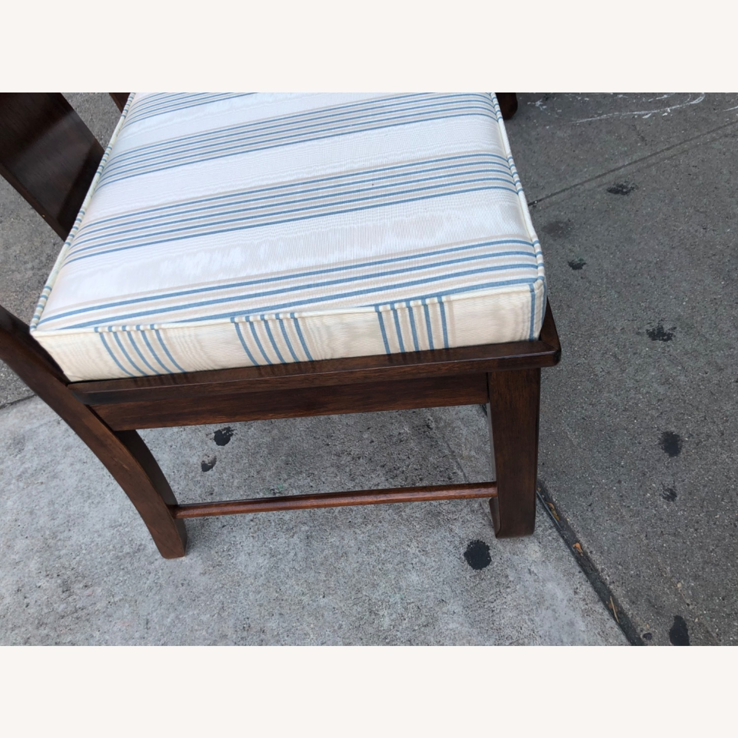 Vintage 1970s Table w/6 Chairs & 2 Extension - image-26