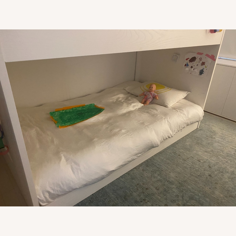 Crate & Barrel Kids Bunk Bed White - image-3