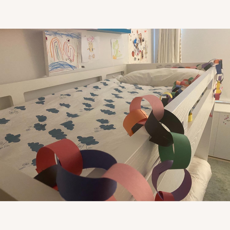 Crate & Barrel Kids Bunk Bed White - image-4