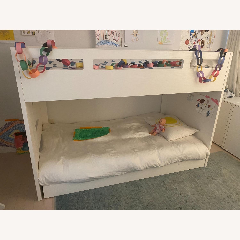 Crate & Barrel Kids Bunk Bed White - image-2