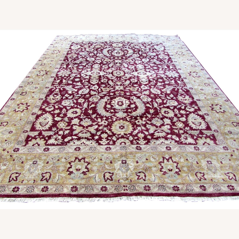 Handmade vintage Afghan Zigler rug - image-1