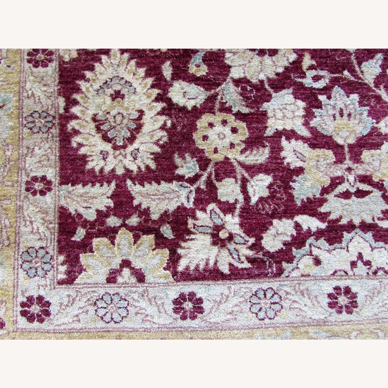Handmade vintage Afghan Zigler rug - image-5