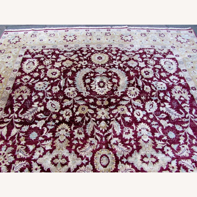 Handmade vintage Afghan Zigler rug - image-9
