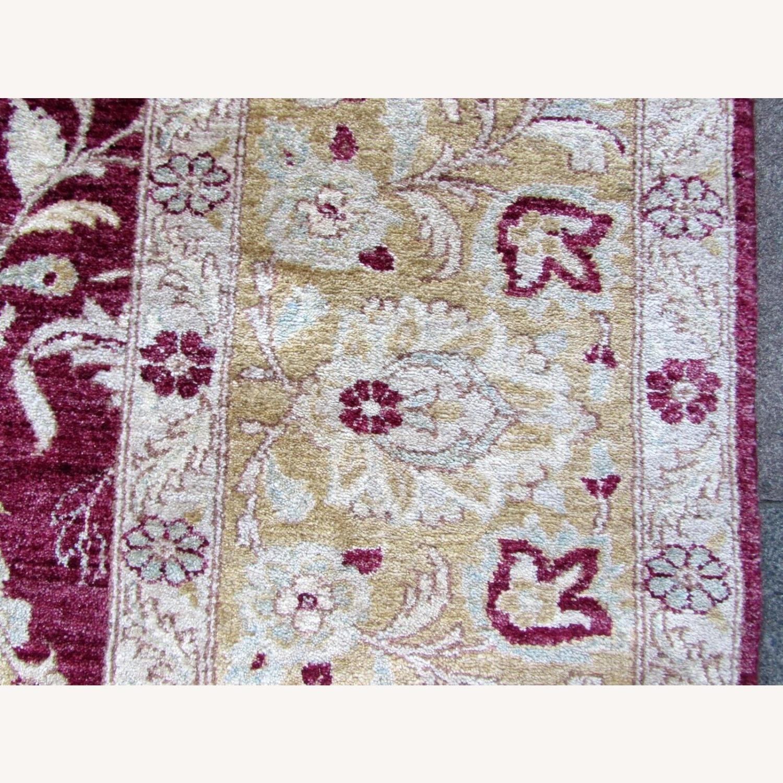 Handmade vintage Afghan Zigler rug - image-6