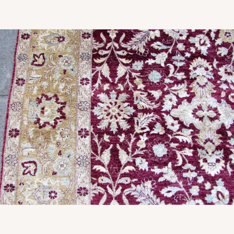 Handmade vintage Afghan Zigler rug - image-2