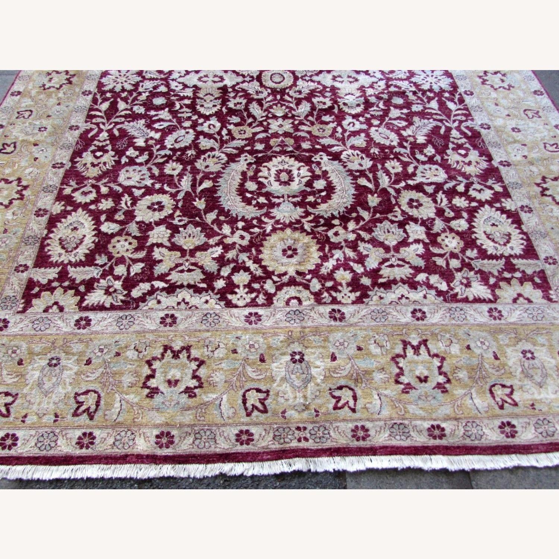 Handmade vintage Afghan Zigler rug - image-10