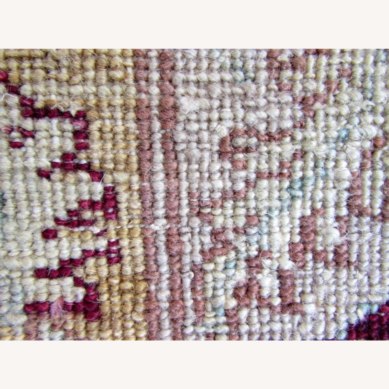 Handmade vintage Afghan Zigler rug - image-8