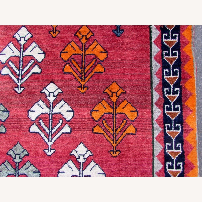 Handmade vintage Persian Gabbeh rug - image-6
