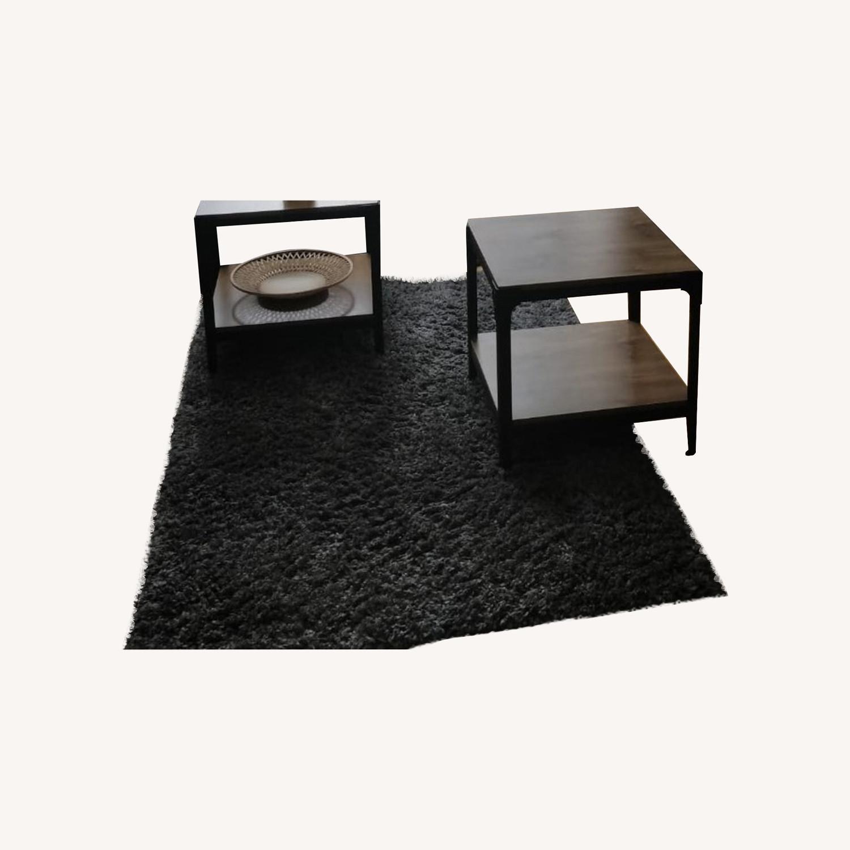 Venice shaggy Area Rug with Floor Grip - image-0