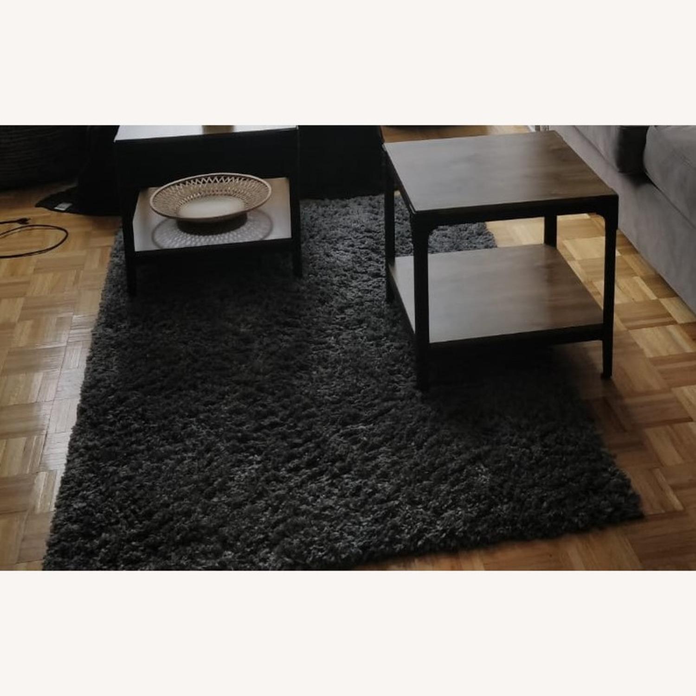 Venice shaggy Area Rug with Floor Grip - image-2