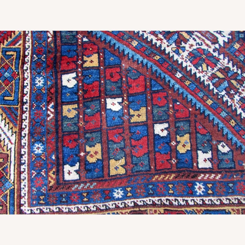 Handmade antique Persian Gashkai rug - image-2