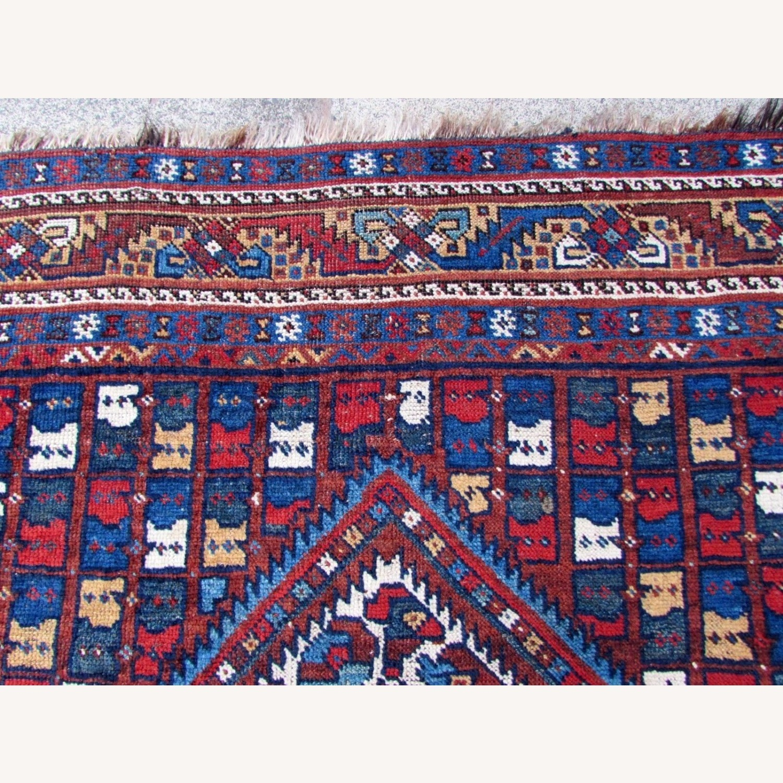 Handmade antique Persian Gashkai rug - image-9