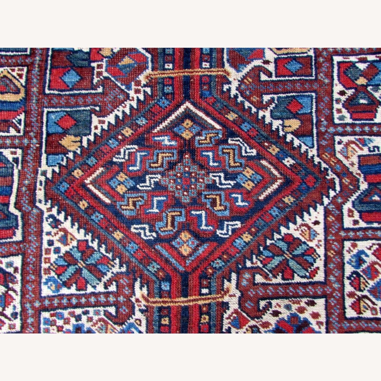 Handmade antique Persian Gashkai rug - image-10