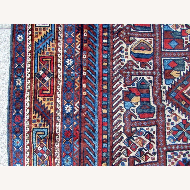 Handmade antique Persian Gashkai rug - image-11