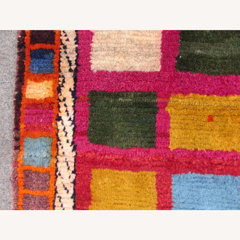 Handmade Vintage Persian Gabbeh Rug - image-2
