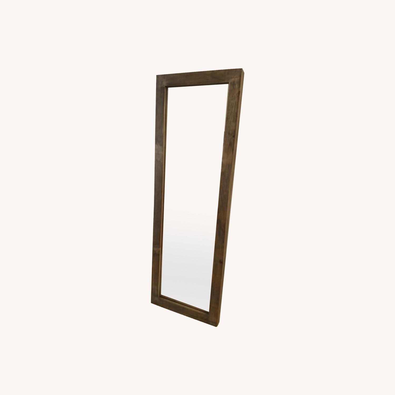 West Elm Persons Floor Mirror - image-0