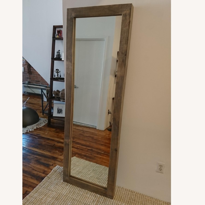 West Elm Persons Floor Mirror - image-3