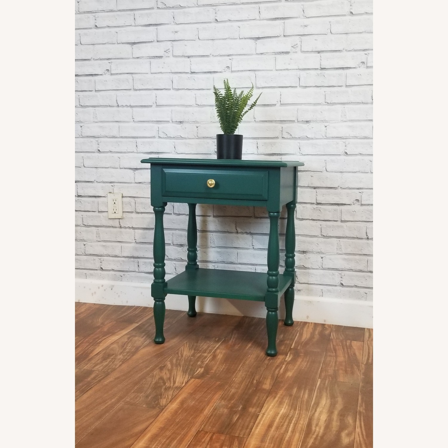 Refinished Solid Maple Nightstand - image-1