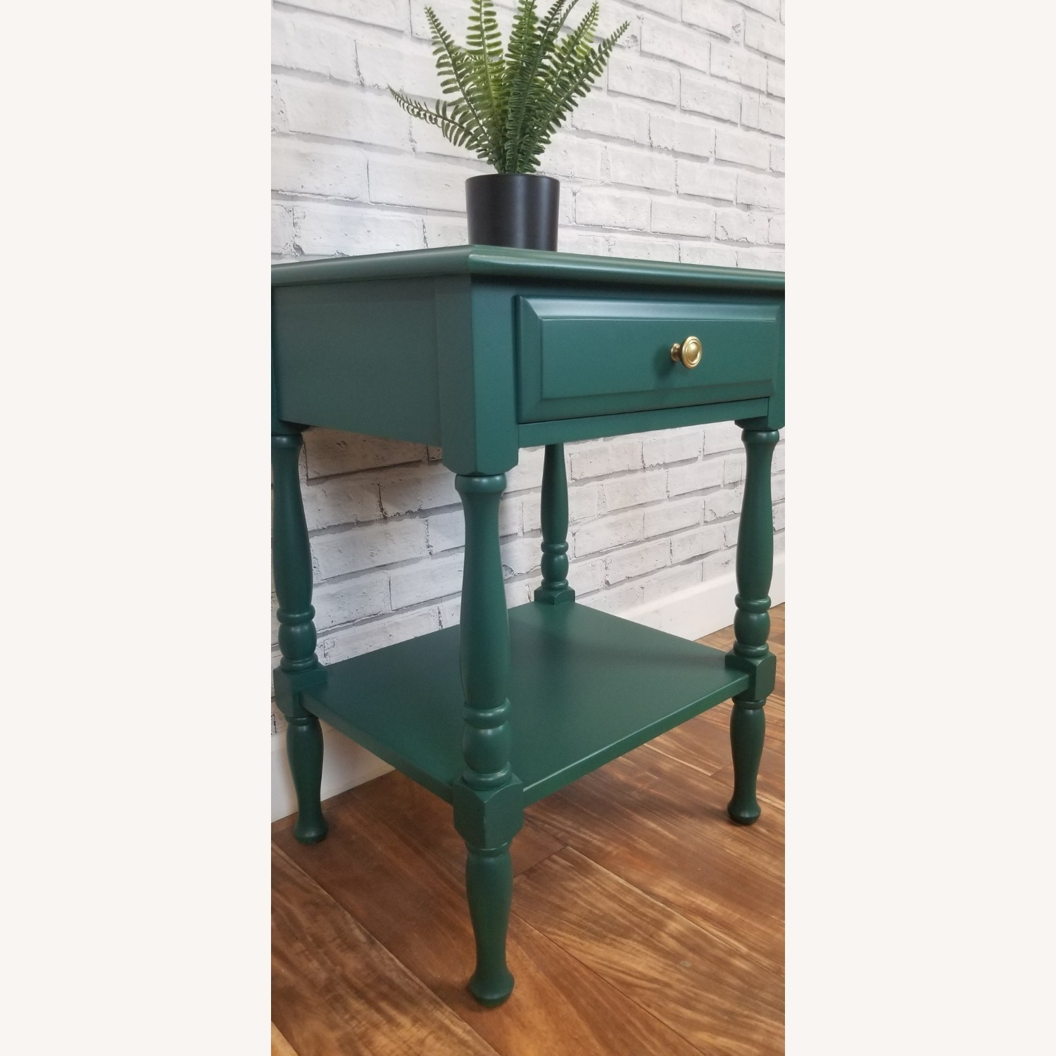 Refinished Solid Maple Nightstand - image-2