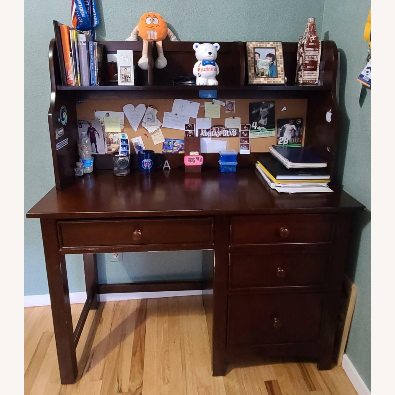 Dark Brown Desk - image-2