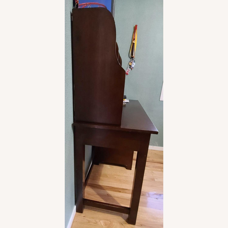 Dark Brown Desk - image-4