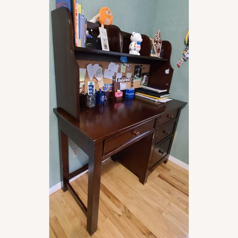 Dark Brown Desk - image-3