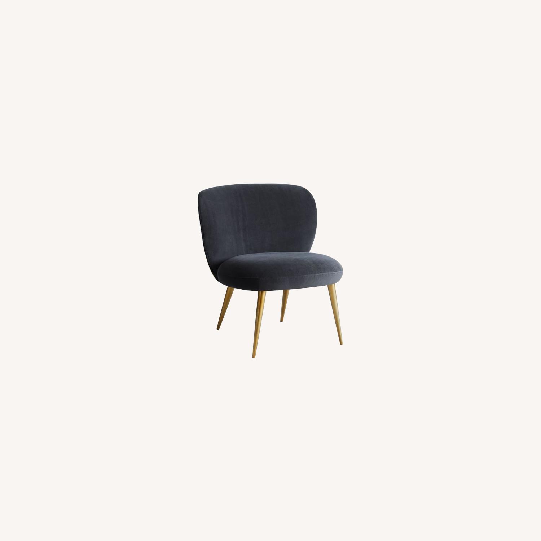 West Elm Ginger Slipper Chair - image-0