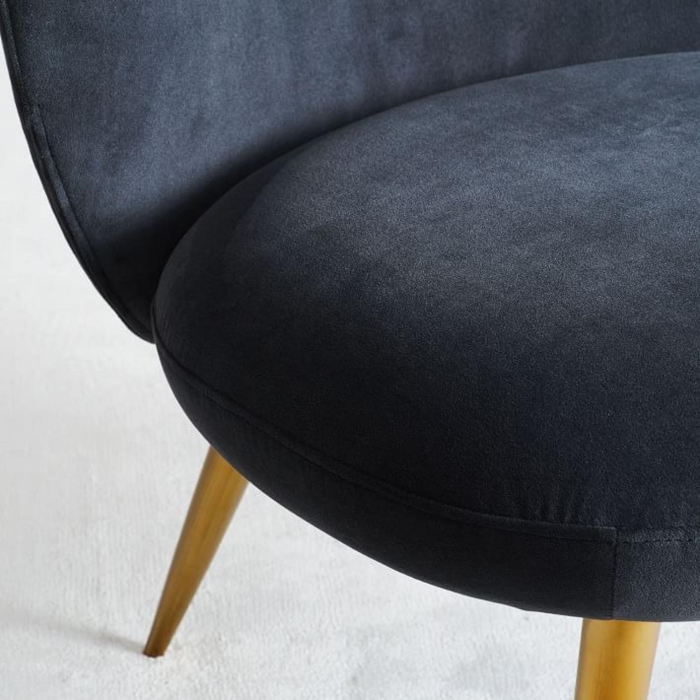 West Elm Ginger Slipper Chair - image-5