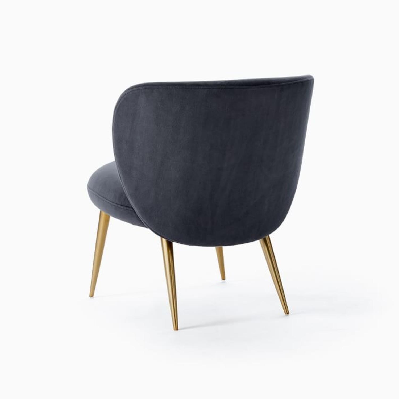 West Elm Ginger Slipper Chair - image-4