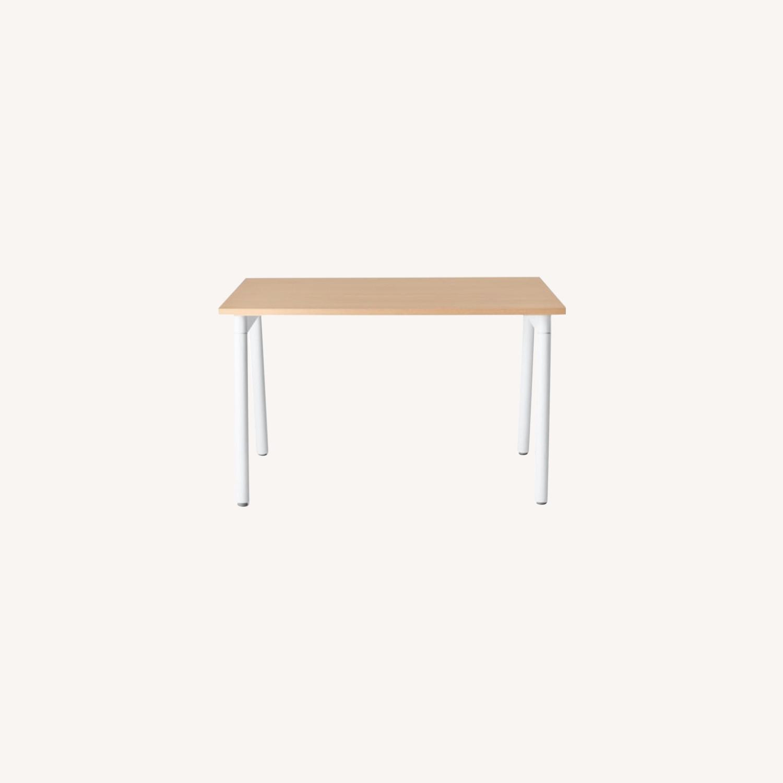 Poppin Series A Single Desk - image-0