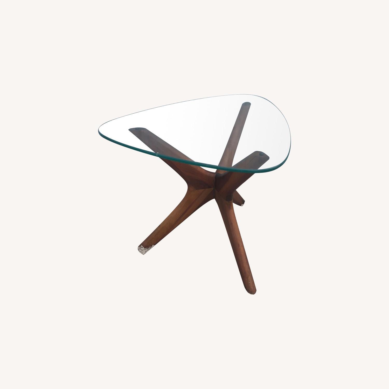 Mid Century Adrian PearsallGlass Top Side Table  - image-0