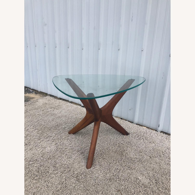 Mid Century Adrian PearsallGlass Top Side Table  - image-6