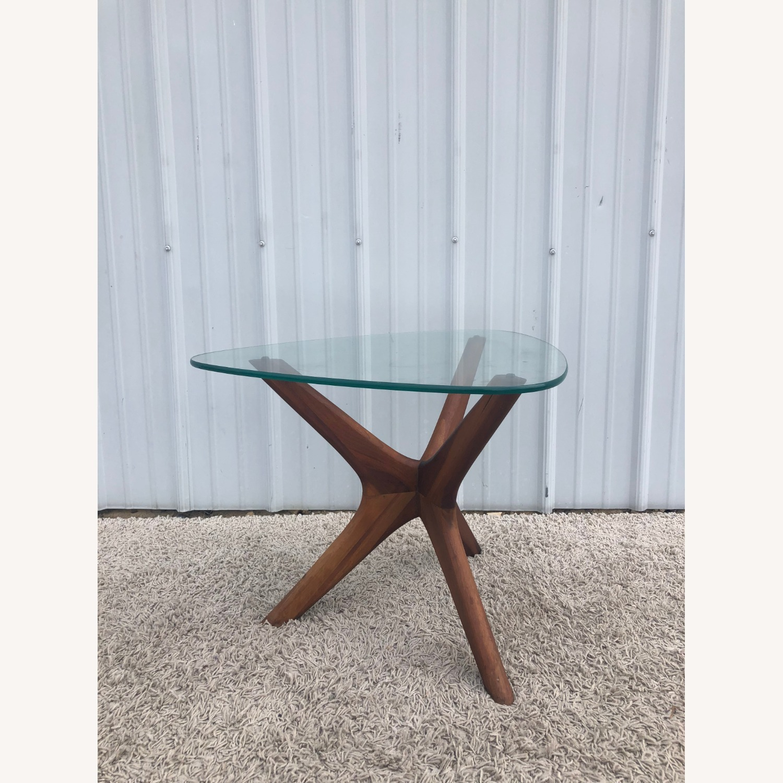 Mid Century Adrian PearsallGlass Top Side Table  - image-1