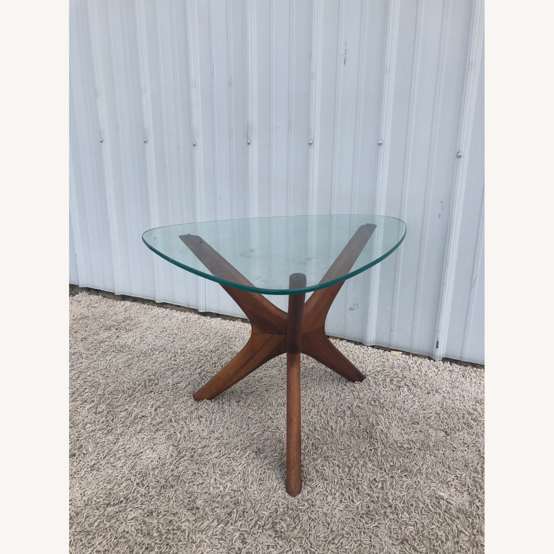 Mid Century Adrian PearsallGlass Top Side Table  - image-7
