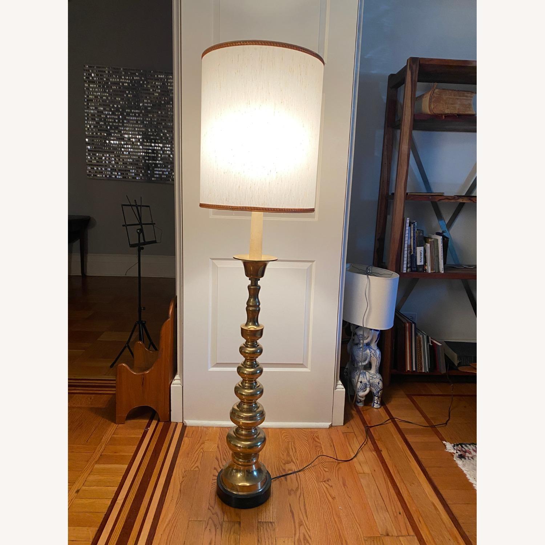 Mid-Century Brass Floor Lamp - image-6