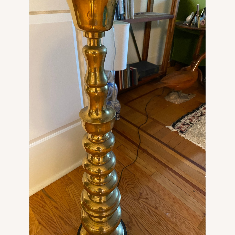 Mid-Century Brass Floor Lamp - image-5