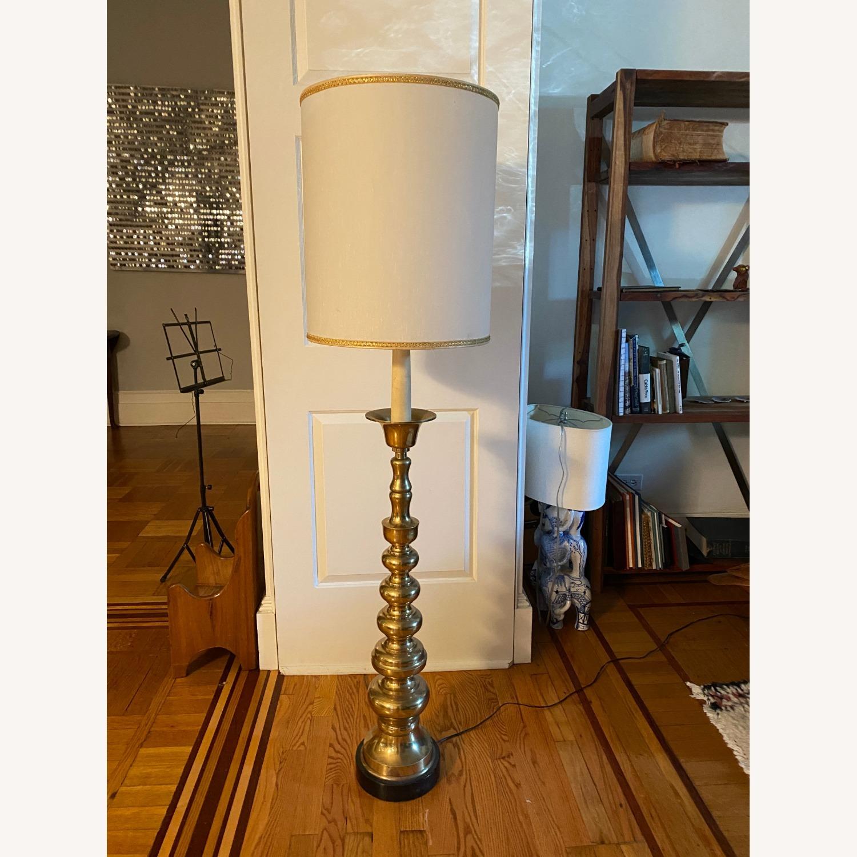 Mid-Century Brass Floor Lamp - image-2