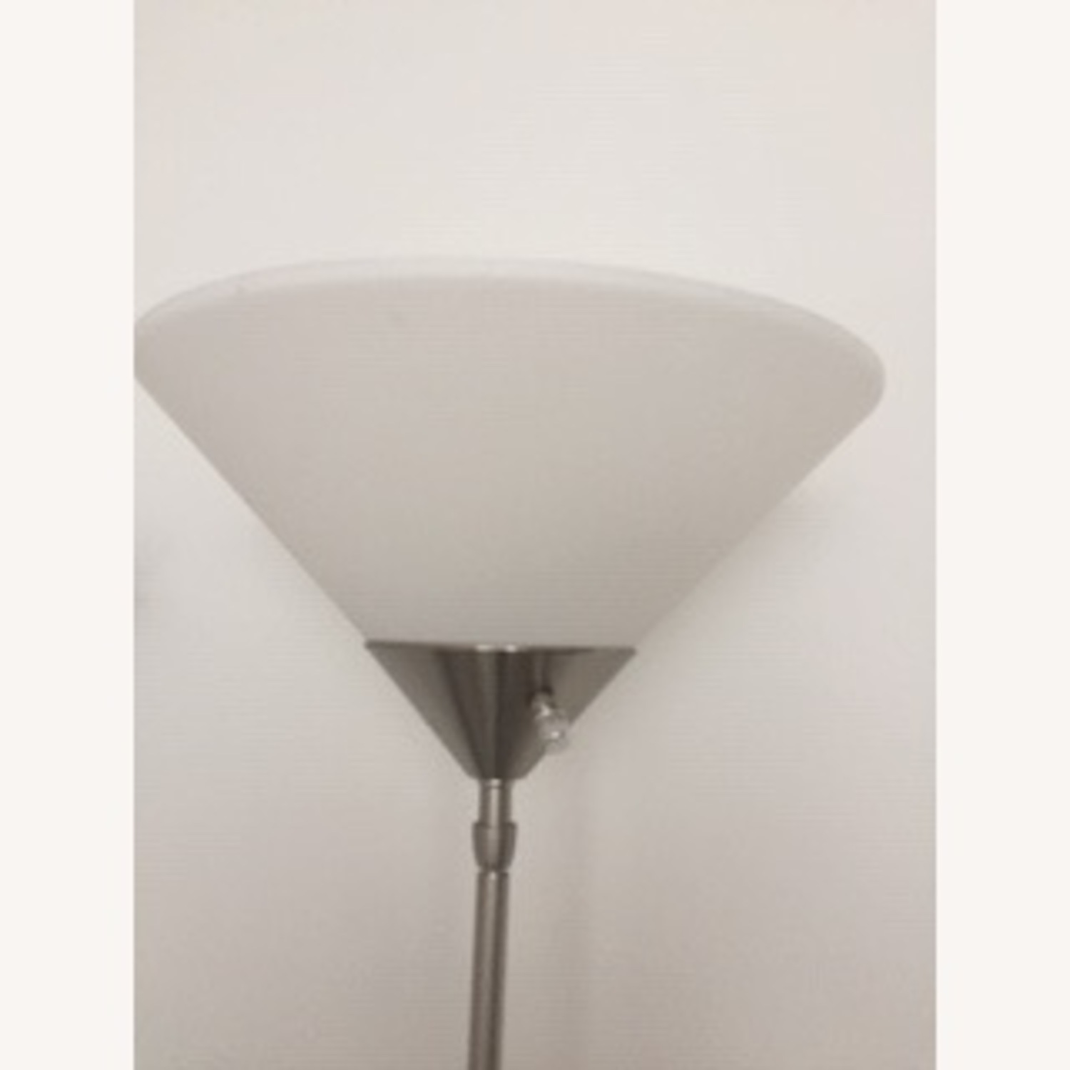 Metal Torchiere Lamp - image-2