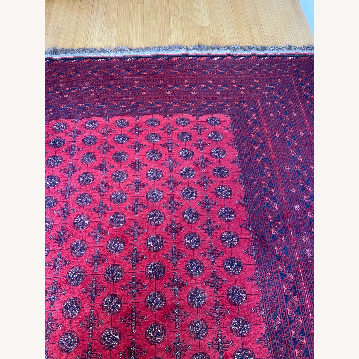 Authentic Handwoven Rug from Afghanistan - image-1