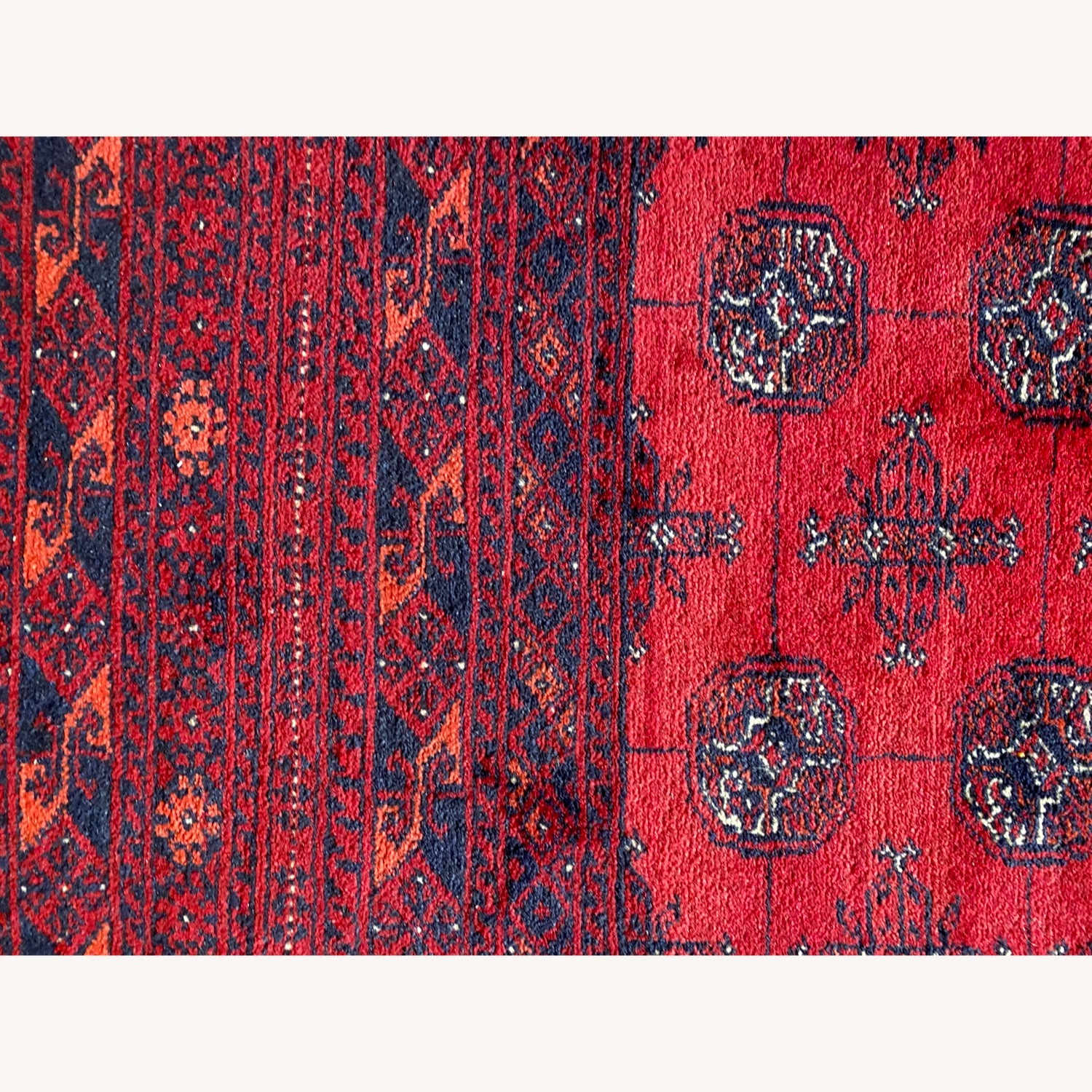 Authentic Handwoven Rug from Afghanistan - image-3