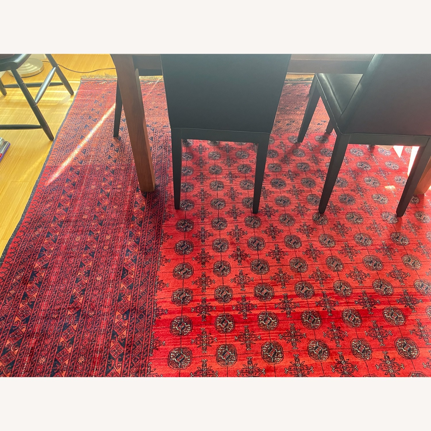 Authentic Handwoven Rug from Afghanistan - image-2